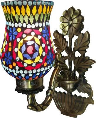 LightingWorld Diamond Shape Cut on Flower base Night Lamp