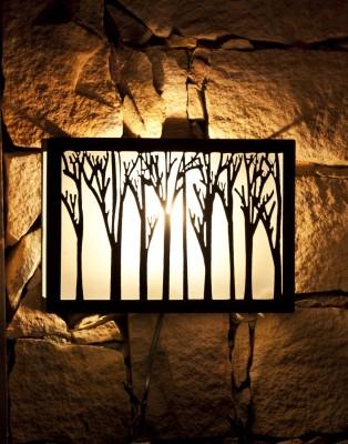 Orange Tree Sconce Wall Lamp