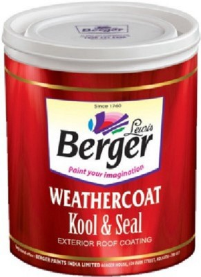 Berger BWKS-RD-1L Red Emulsion Wall Paint