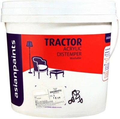 Asian Paints TS-WHT-1L Clear Distemper Wall Paint