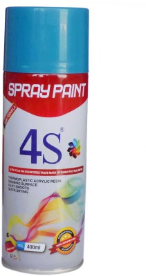 SAMRAJ4S 4S-413A Blue Solvent Wall Paint(400 ml)