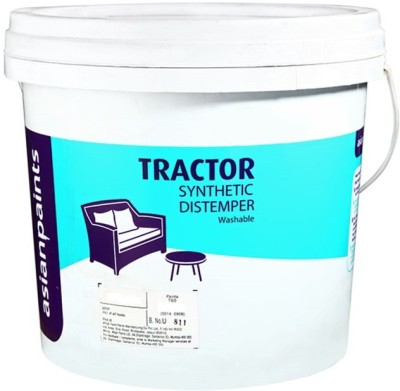 Asian Paints Tractor Synthetic Distemper  Clear Distemper Wall Paint