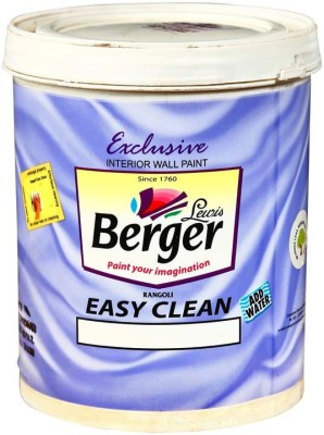 Berger BSE-WH-1L White Emulsion Wall Paint(1 L)