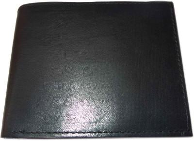 ALW Men Formal Black Genuine Leather Wallet