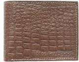 Crapgoos Men Brown Genuine Leather Walle...