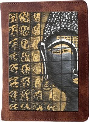 Rang Rage Men Travel Multicolor Canvas Document Holder