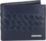 Lino Perros Men Blue Genuine Leather Wal...