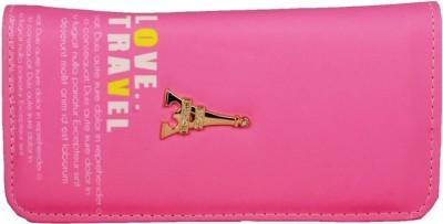 Lizzie Women Pink Artificial Leather Wallet