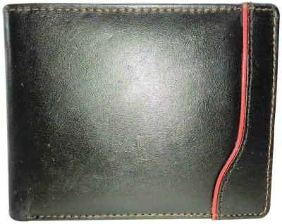 RICHBORN Men Black Artificial Leather Wallet