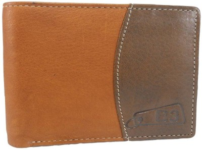 B3trendz Men Trendy Multicolor Genuine Leather Wallet