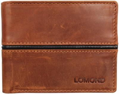 Lomond Men Tan Genuine Leather Wallet