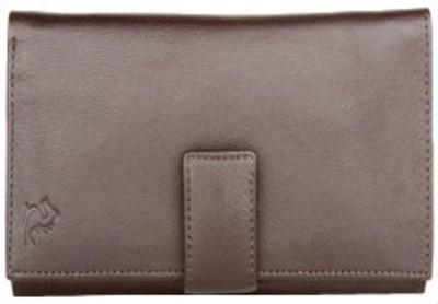 Kara Women Brown Genuine Leather Wallet