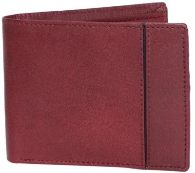 Essart Men Casual Red Artificial Leather Wallet