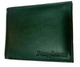 Longhorns Men Black Genuine Leather Wall...