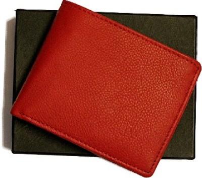 Cachét Men, Women Red Genuine Leather Wallet