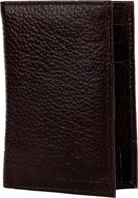 LaTurtle Men Brown Genuine Leather Wallet