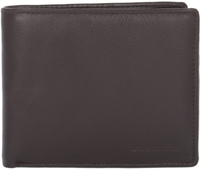 Choice Men Evening/Party Brown Genuine Leather Wallet(6 Card Slots)