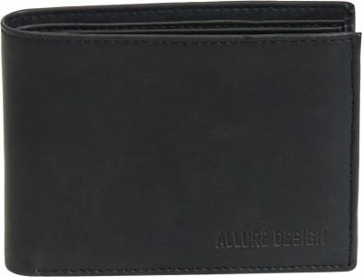 ALLUREDESIGN Men Black Artificial Leather Wallet