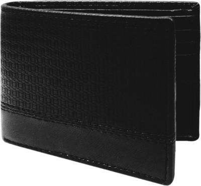 Hi Look Men Casual Black Genuine Leather Wallet