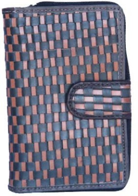 Matrix Women Casual Black Genuine Leather Wallet