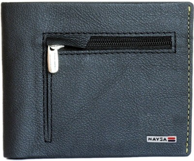 Naysa Men Formal, Casual Black Genuine Leather Wallet