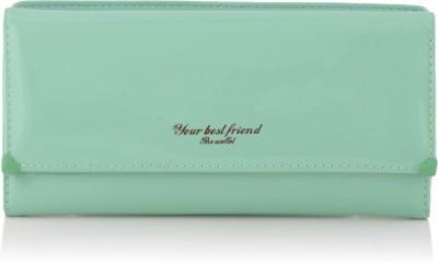 Dolse & Stela Women Green Artificial Leather Wallet