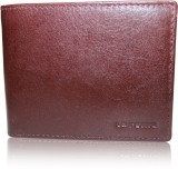La Roma Men Brown Genuine Leather Wallet...