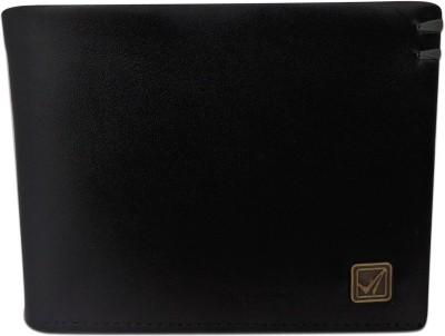 Kan Men Casual, Formal Black Genuine Leather Wallet