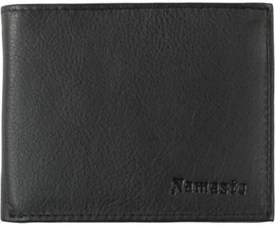 Namaste Men Black Genuine Leather Wallet