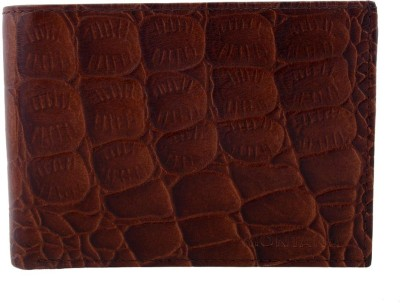Montana Men, Boys Brown Genuine Leather Wallet