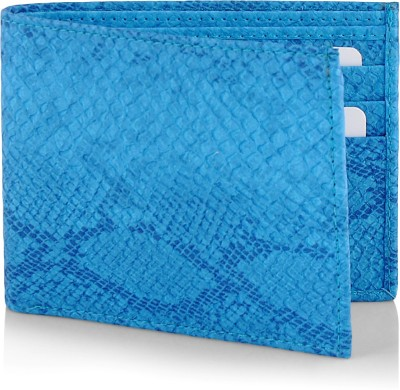 Brown Sugar Women Blue Artificial Leather Wallet