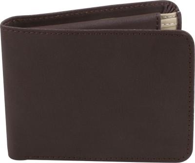 Umda Men Brown Artificial Leather Wallet