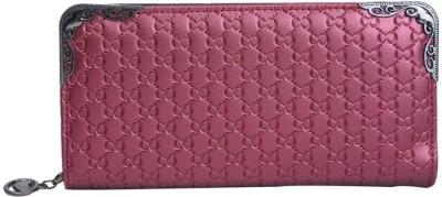 Daks Women Casual Purple Artificial Leather Wallet