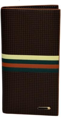 Gen Men Casual, Formal Brown Genuine Leather Wallet