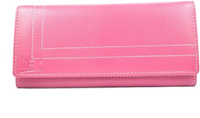 Imex International Women Pink Genuine Leather Wallet