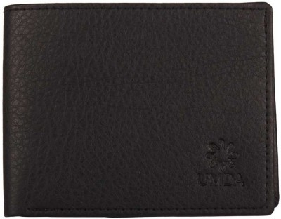 Umda Men Casual Black Artificial Leather Wallet