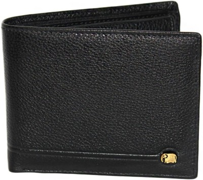 K London Men Casual, Formal Black Genuine Leather, Fabric Wallet