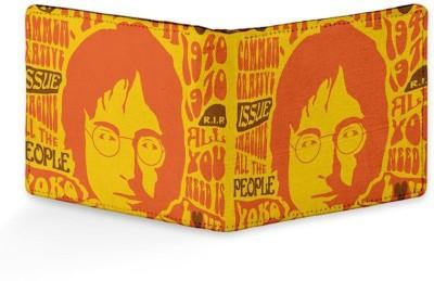 Rockmantra Men Casual, Formal Yellow Genuine Leather Wallet