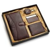 Arum Men Brown Genuine Leather Wallet (7...