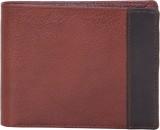 American-Elm Men Brown Genuine Leather W...