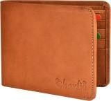 Charlie Men Brown Genuine Leather Wallet...