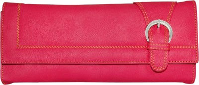 Meridian Women Travel Pink Artificial Leather Wallet