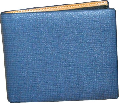 Shockyfi Men Blue Artificial Leather Wallet