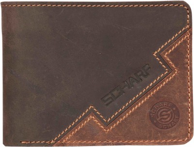 Scharf Men Multicolor Genuine Leather Wallet(6 Card Slots)