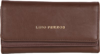 Lino Perros Women Brown Artificial Leather Wallet