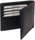 Ystore Men Black Genuine Leather Wallet ...