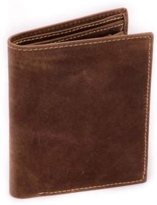 Route Men, Women Casual, Formal Brown Genuine Leather Wallet