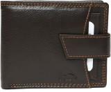 New Dolphin Men Brown Genuine Leather Wa...