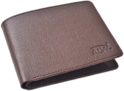 ALW Men Brown Artificial Leather Wallet