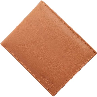 cotnis Men Tan Artificial Leather Wallet